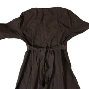 Tommy Bahama Dresses - Tommy Bahama Dark Brown 100% Cotton Dress Sz M